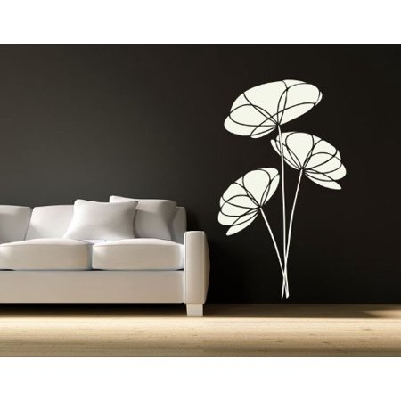 Poppy Flower Wall Decal wall decal sticker mural vinyl art home decor