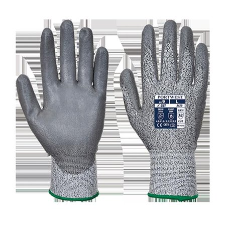 Portwest VA620G7RXL LR Cut PU Palm Glove, Grey - Extra Large - image 1 of 1