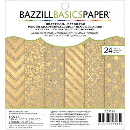 Bazzill Basics Cardstock Pad, 6
