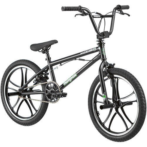 "20"" Mongoose Mode 270 Mag Boys' Freestyle Bike, Black by Pacific Cycle"
