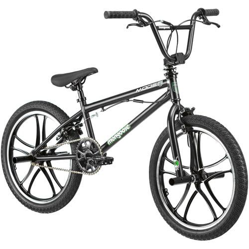 "20"" Mongoose Mode 270 Mag Boys' Freestyle Bike, Black"