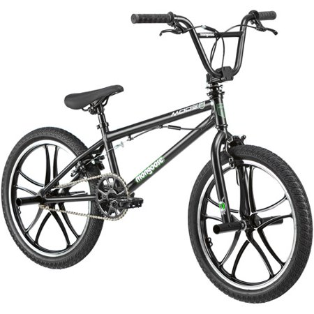 "20"" Mongoose Mode 270 Mag Boys' Freestyle Bike, Black ...