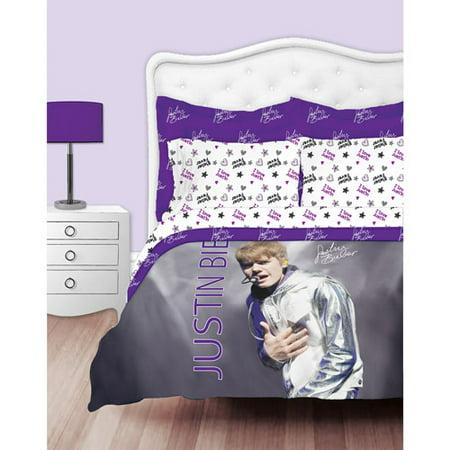 Justin Bieber Concert Comforter Set