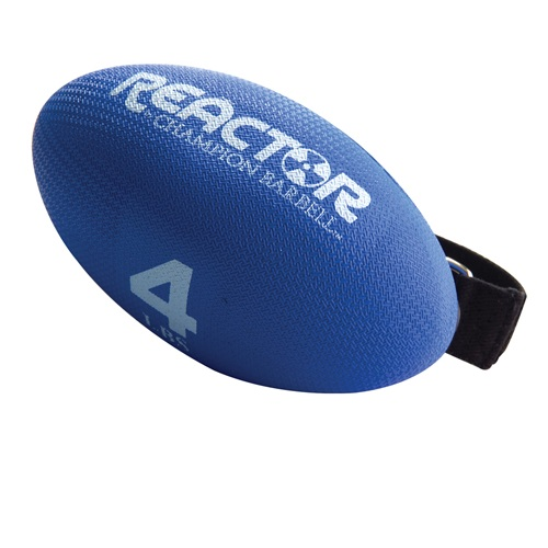 Hand Held Weights, Football Shape - 4 Lb