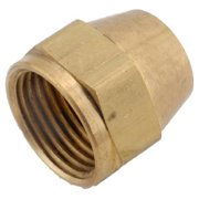 714014-10 Brass Threaded Short Rod Nut, Lead-Free, 5/8-In. - Quantity 1