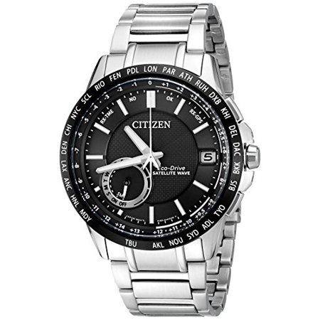 Men S Cc3005 85e Satellite Wave Analog Display Quartz Silver Watch