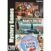 Mystery Games Triple Pack (Hide & Secret, Nancy Drew & Mystery Cookbook)