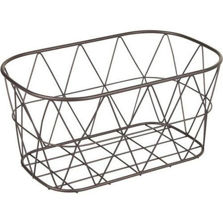 Better Homes & Gardens Small Bathroom Bronze Wire Storage