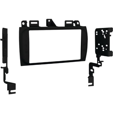 Metra 95 2005B Double Din Installation Dash Kit For Select 1996 Up Cadillac Vehicles  Black  Multi Colored
