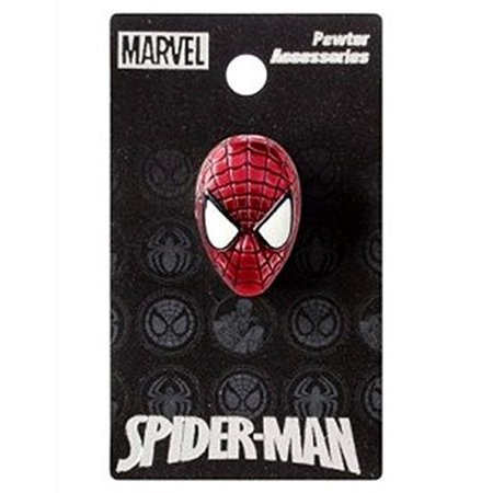 Marvel Spiderman Colored Pewter Lapel Pin - image 1 of 1