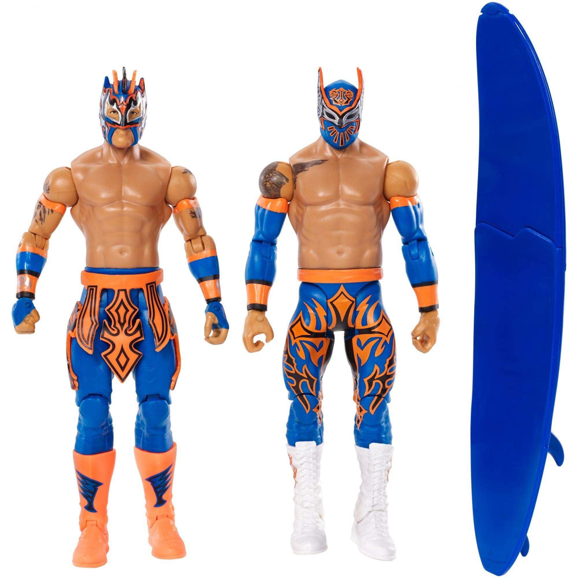 Mattel WWE Sin Cara/Kalisto Basic Action Figure 2-Pack