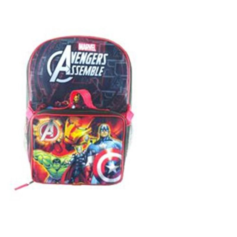 """Avengers Assemble 16"""" Backpack and Lunch Tote"""