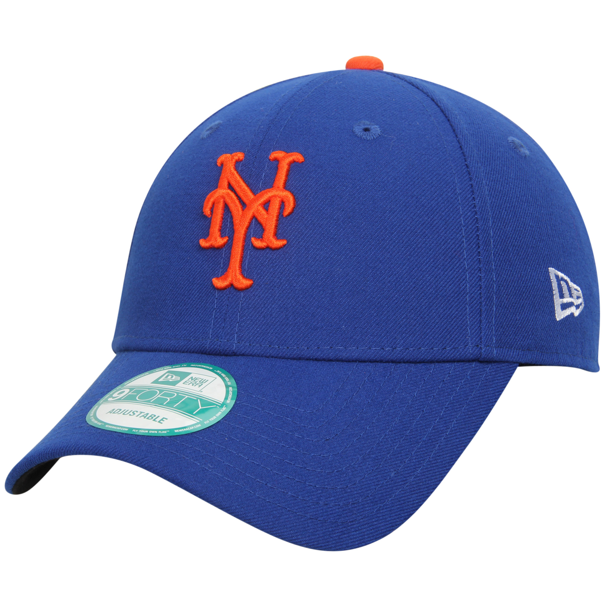 New York Mets New Era Men's League 9Forty Adjustable Hat - Royal - OSFA