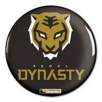 "Seoul Dynasty WinCraft Team Logo 3"" Button Pin - No Size"