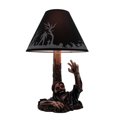 To the Light Dead Rising Zombie Lamp with Black Zombie Shade