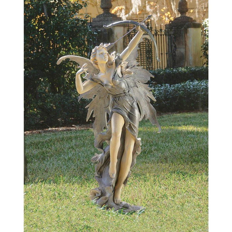 Design Toscano Rhiannon the Archer Fairy Garden Statue