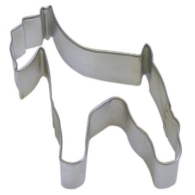 """R&M Schnauzer 3"""" Cookie Cutter in Durable, Economical, Tinplated Steel"""