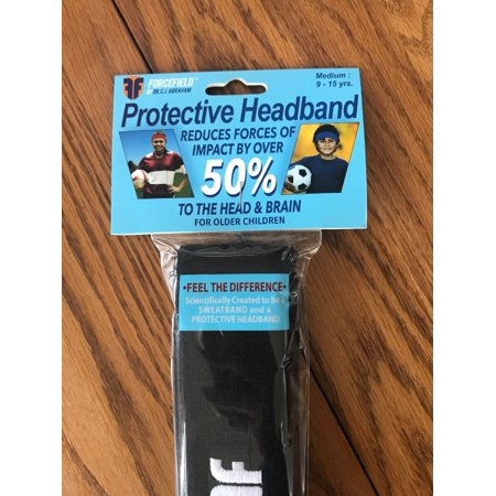Forcefield Headband Concussion Safety Sport Medium 9-15 yrs Soccer (Head Soccer Best Character)