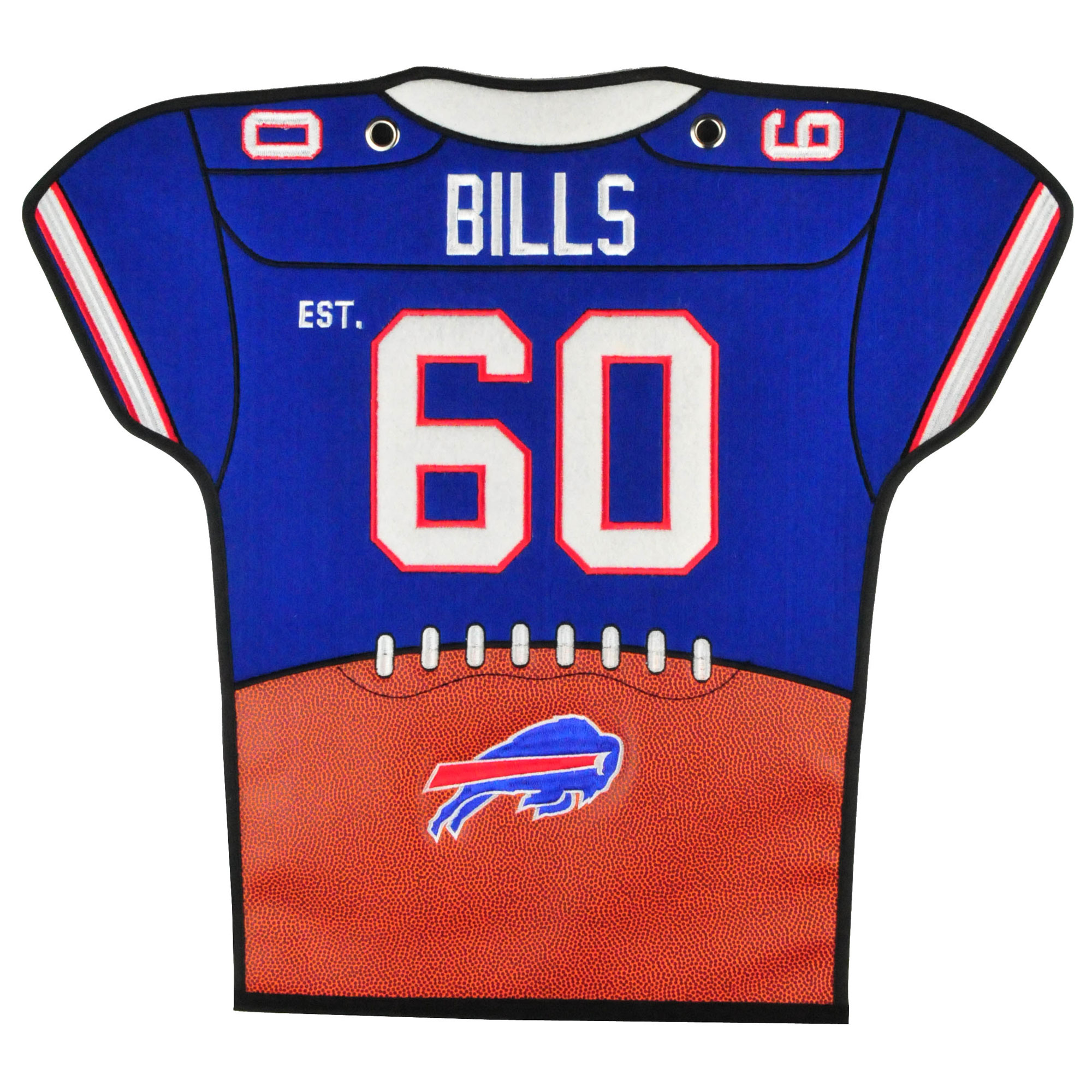 Buffalo Bills 20'' x 18'' Jersey Traditions Banner - No Size