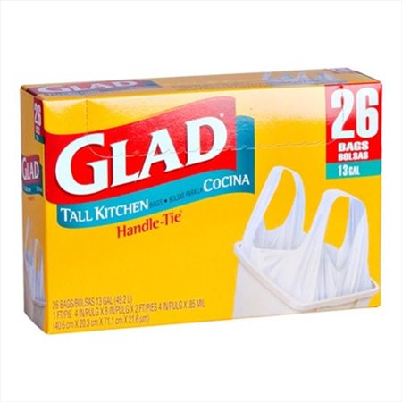 4 days ago· Walmart has Glad Tall Kitchen Drawstring Trash Bags - 13 Gallon - 22 ct on sale for $ - $5 Slickdeals Rebate = $ Opt for Free In-Store Pickup to .