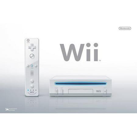 Refurbished Nintendo Wii Console White
