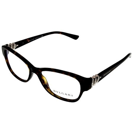 Glasses Frames Bridge Size : Bvlgari Prescription Eyeglasses Frame Women BV4078B 504 ...