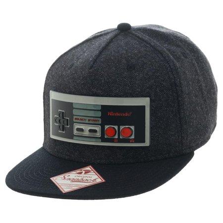 eb53e170d Bioworld Nintendo NES Classic Game Controller Snapback Cap Hat ...