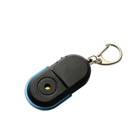 Portable Wireless Anti-Lost Alarm Key Finder Locator Keychain Whistle Sound LED Light Mini Anti Lost Key Finder Led Lighted Logo Keychain