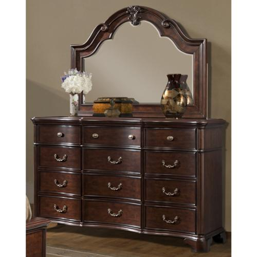 Picket House  Furnishings Tomlyn Dresser & Mirror Set