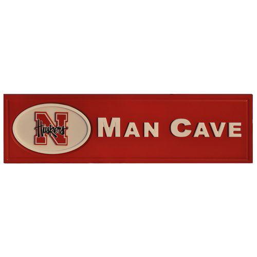 Fan Creations Ncaa Man Cave Textual Art Plaque Walmart Com Walmart Com