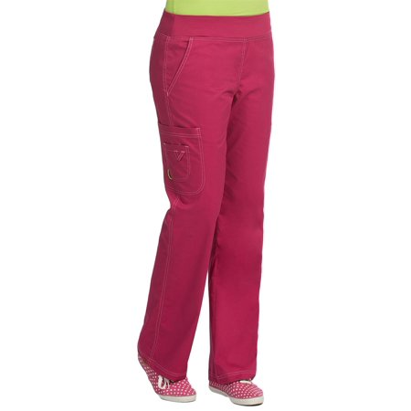 9d4a1de27c3 Med Couture - MC2 by Med Couture Women's Yoga Knit Waistband Cargo Scrub  Pant - Walmart.com