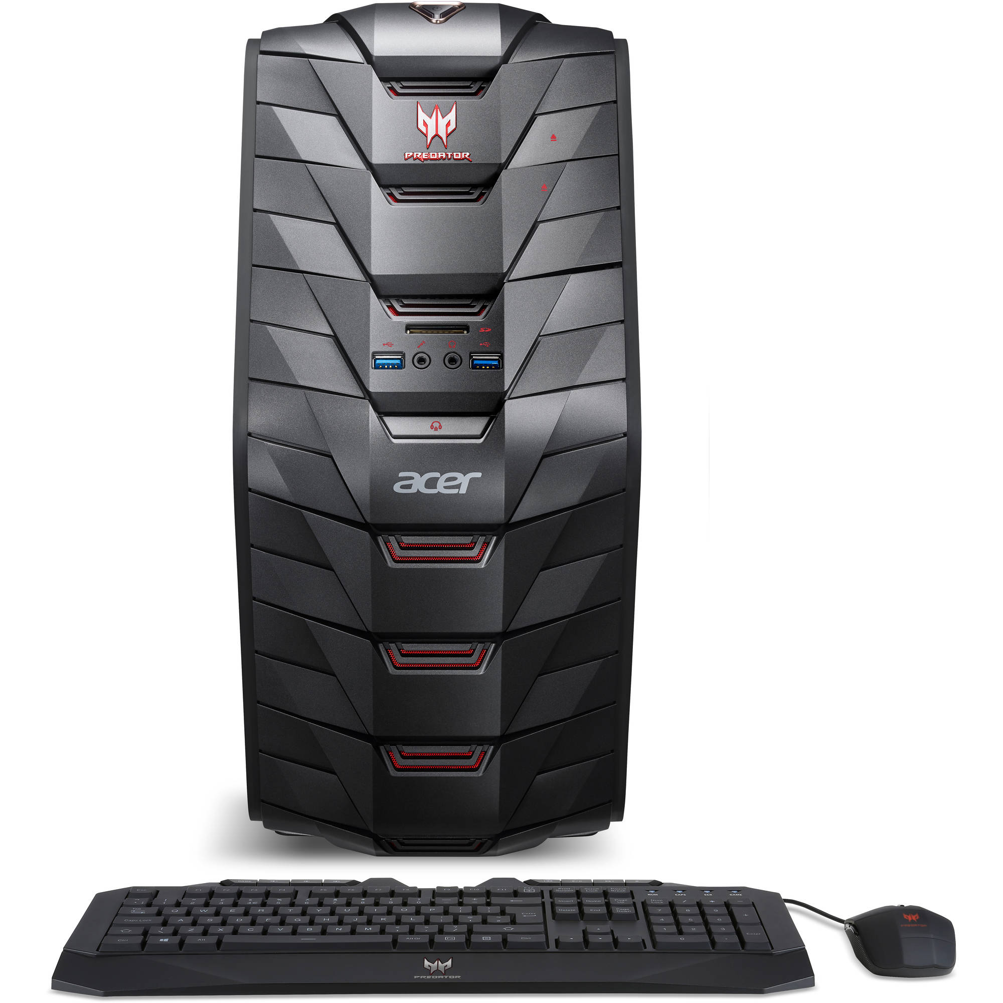 Acer Predator AG3-710-UW11 Desktop PC with Intel Core i5-6400 Processor, 8GB Memory, 1TB Hard Drive and... by Acer