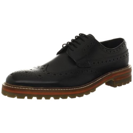 French Connection Men's Chuck Oxford,Black,43 EU/10.5 M - Chucks And Dresses