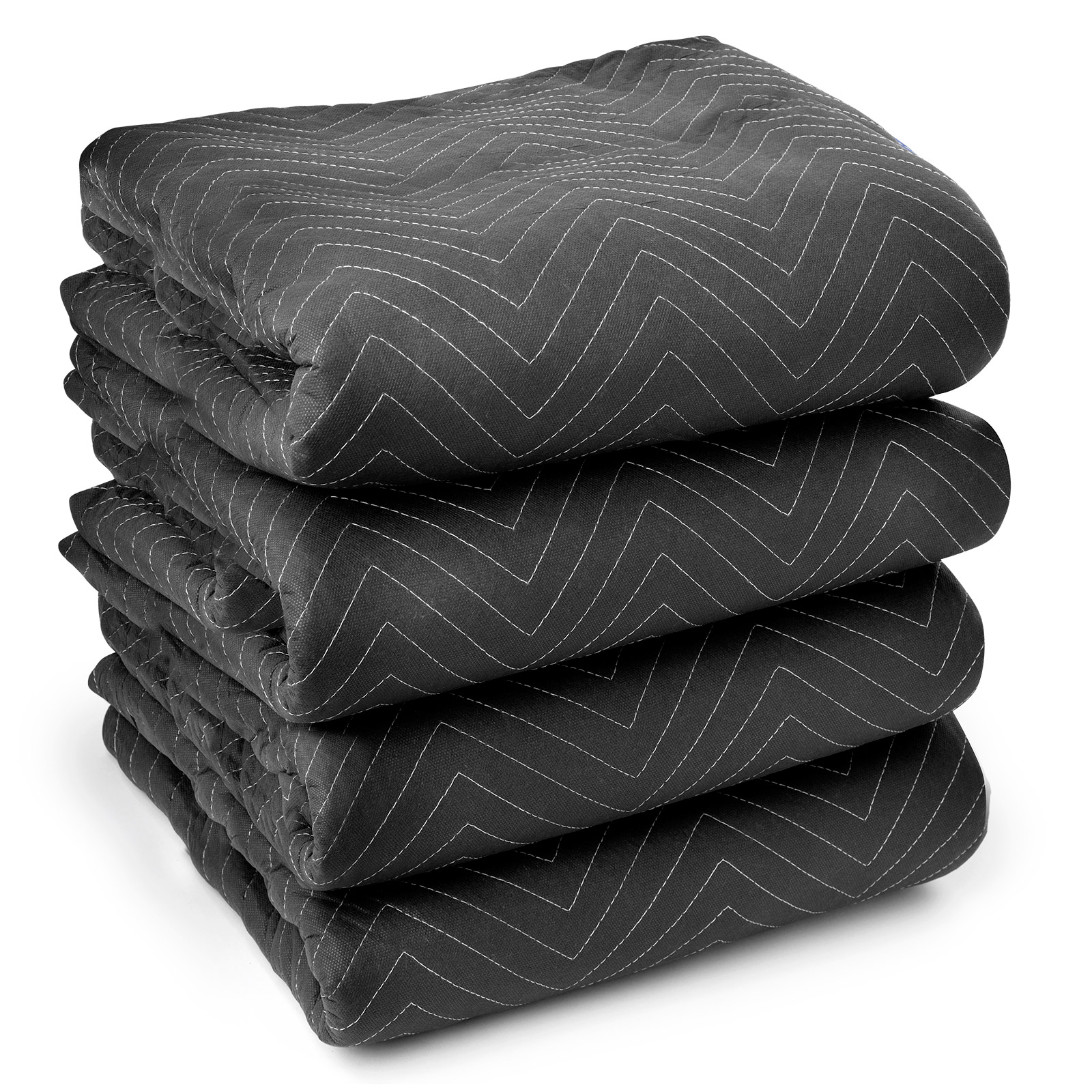 4 Ultra Thick Pro Moving Blankets Padded Furniture Pads 7...