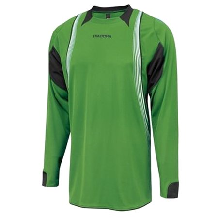 caf2723db Diadora - Diadora Men s Aero LS Goalkeeper Jersey Shirt Green White XL -  Walmart.com
