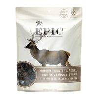 (8 Count) EPIC Orig. Hunter''s Recipe Tender Venison Steak, 2.5oz