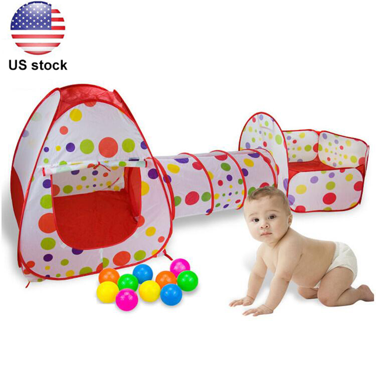 Play Tents and Tunnels 3 In 1 Indoor/Outdoor Kids Pop Up Play House Tents  sc 1 st  Walmart.com & Play Tents and Tunnels 3 In 1 Indoor/Outdoor Kids Pop Up Play ...