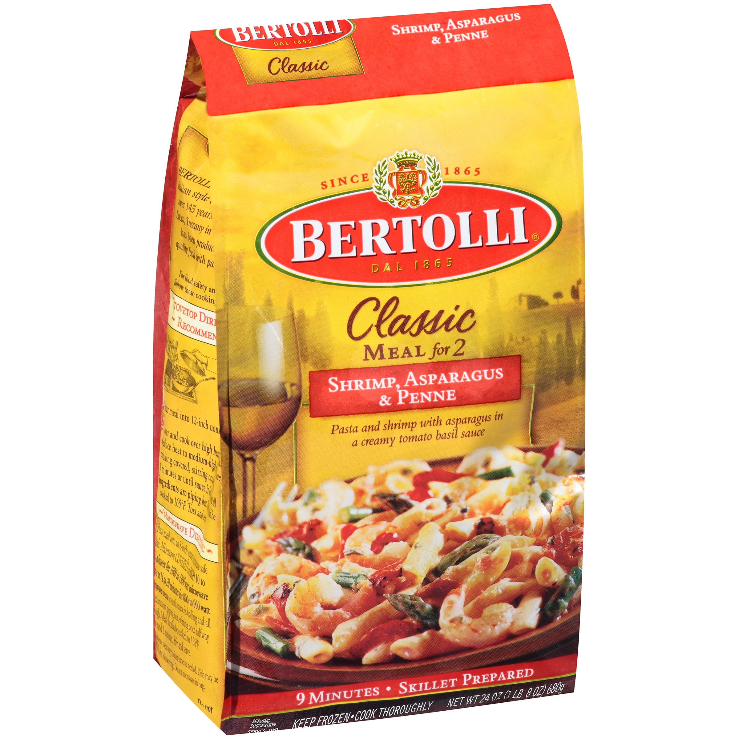 Bertolli Classic Meal for 2 Shrimp, Asparagus & Penne 24 oz. Bag by ConAgra Foods Inc.