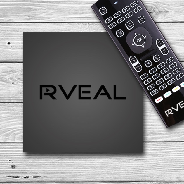 Rveal 2 Android TV Tuner & Streaming Media Player with Air Mouse Backlit Keyboard Remote (Octa-Core, 4K HD, 16 GB)