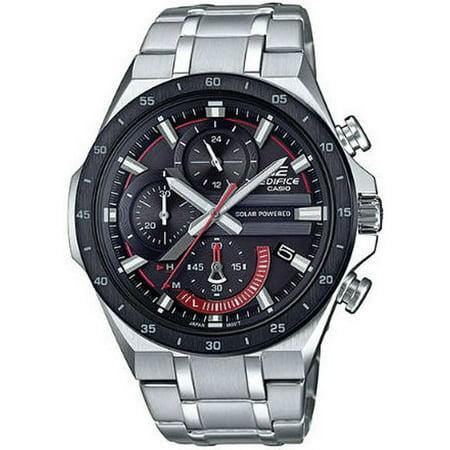 Men's Casio Edifice Steel Solar Powered Chronograph Watch EQS920DB-1AV