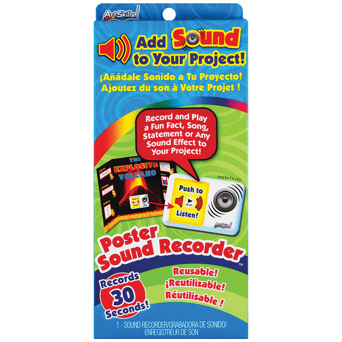 Poster Sound Recorder Kit Walmart