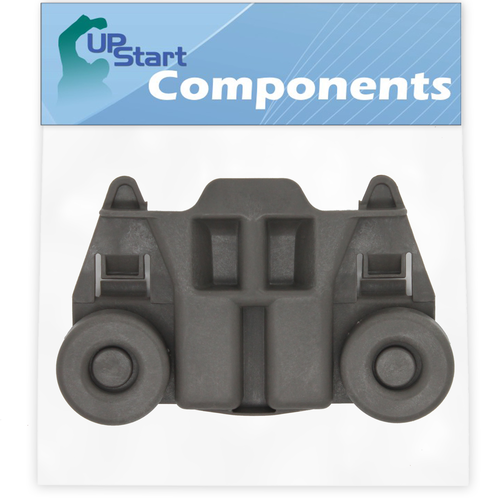 W10195417 Dishwasher Wheel Replacement for Kenmore / Sears 66513923K013 Dishwasher - Compatible with WPW10195417 Dishwasher Rack Roller - UpStart Components Brand - image 2 of 4