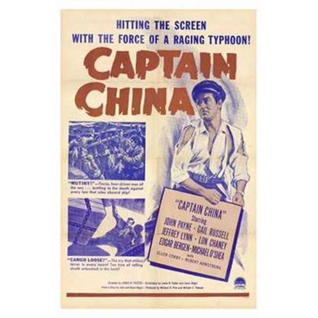 Posterazzi MOVAH7671 Captain China Movie Poster - 27 x 40 in. - image 1 de 1