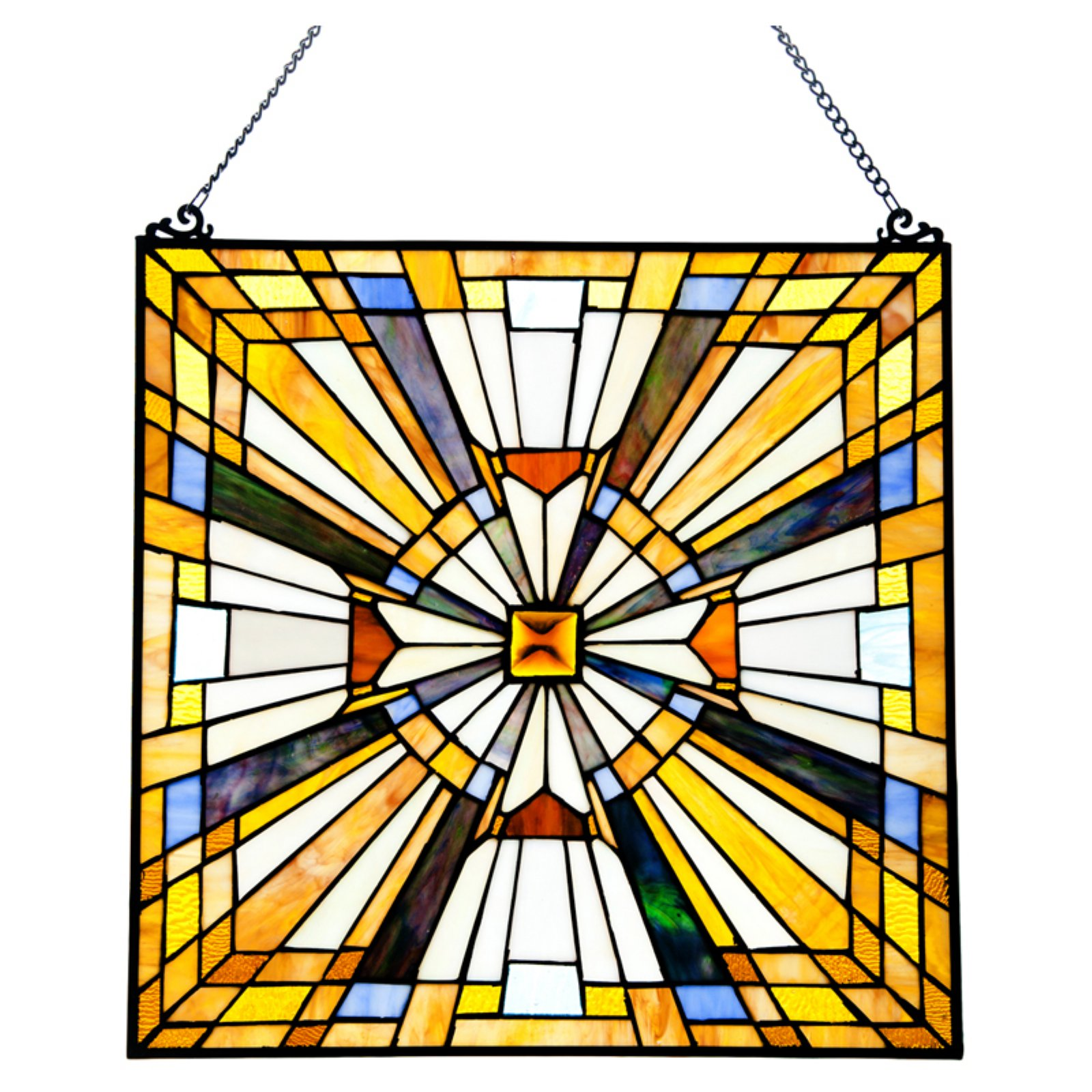 River of Goods Pharaoh Jeweled Window Panel Lamp