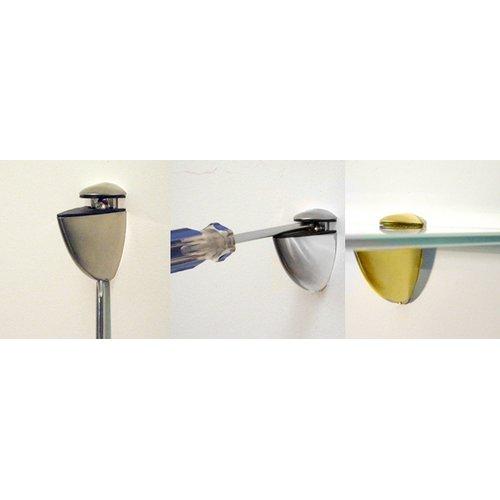 Spancraft Glass Floating Glass Bathroom Shelf by Spancraft Glass