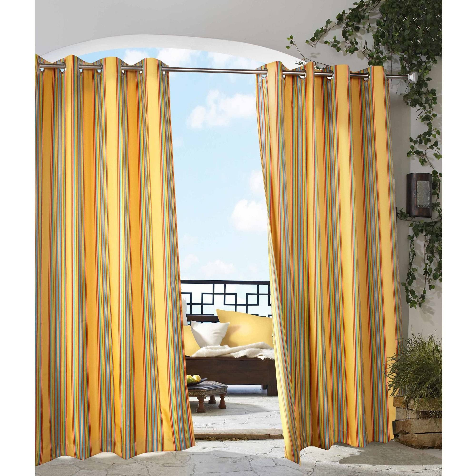 Gazebo Stripe Indoor/Outdoor Grommet Panel