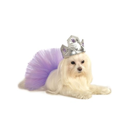 Soft Silver Princess Prince Queen King Crown Tiara Hat For Pet Dog](Crowns For Queens)