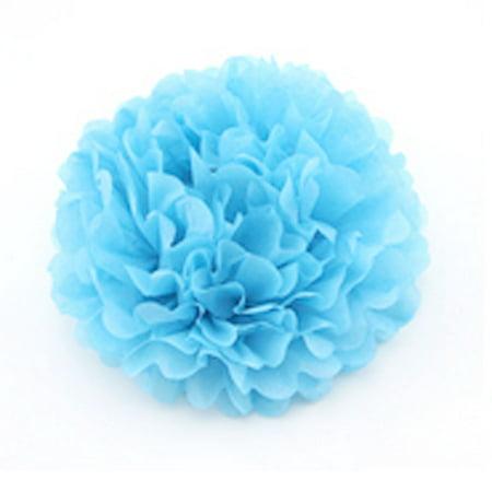 fête d'anniversaire Ornement Suspendu Bricolage Fleur en Papier Boule 8 Pouces diamètre 5pcs - image 2 de 6