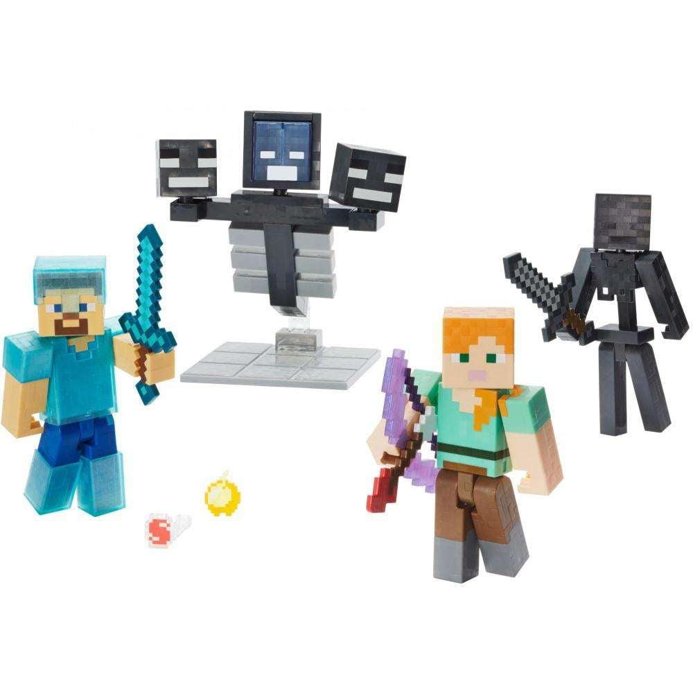 Minecraft Wither Warfare Multipack Walmart Com