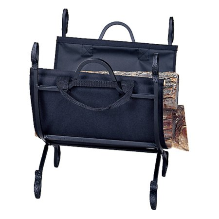 Uniflame Porter Log Holder with Canvas Carrier